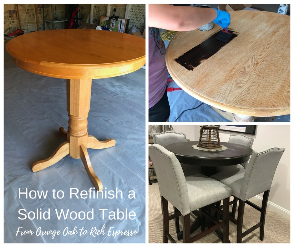 How to Refinish aTable